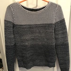 Ombre blue/gray sweater